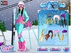Skiing Barbie