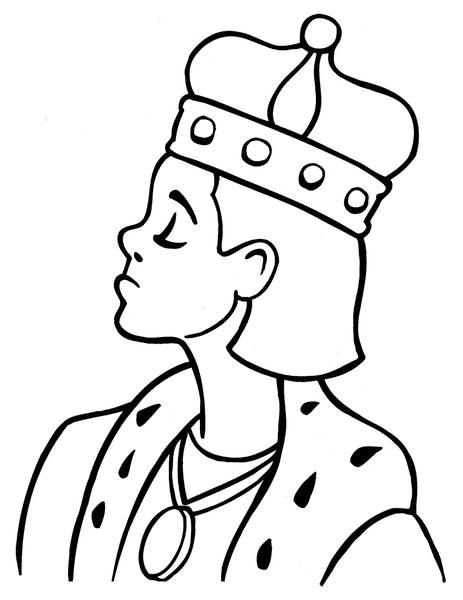 Kolorowanka król