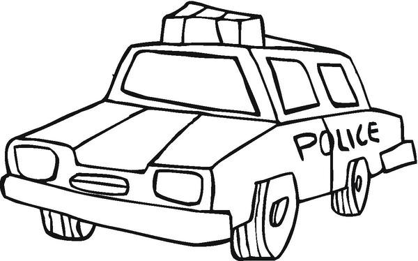 Kolorowanka policja