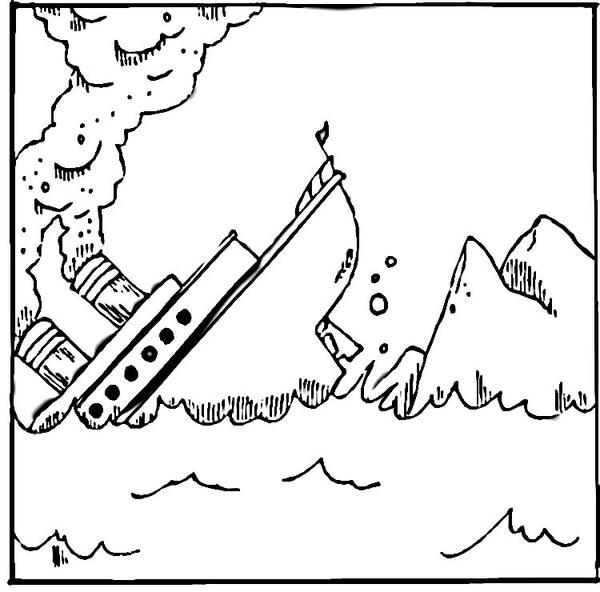 Kolorowanka Titanic