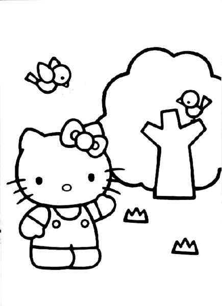 Malowanka Hello Kitty
