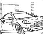 Kolorowanka Aston Martin