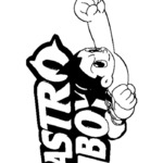 Kolorowanka Astro Boy