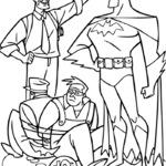 Kolorowanka Batman i przyjaciele