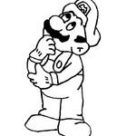 Kolorowanka Luigi