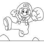 Kolorowanka Mario Bros