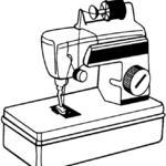 Kolorowanka maszyna do szycia