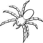Kolorowanka pająk