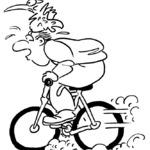Kolorowanka rower