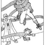 Kolorowanka Spiderman