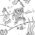 Kolorowanka Spongebob