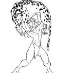 Kolorowanka Tarzan