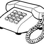 Kolorowanka telefon