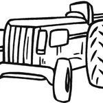 Kolorowanka traktor