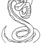 Kolorowanka wąż