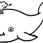 Kolorowanka wieloryb