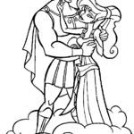 Kolorowanka z Herkulesem