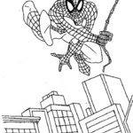 Kolorowanka ze Spiderman