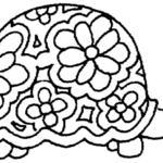 Kolorowanka żółw
