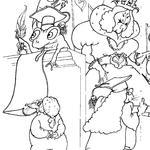Malowanka Alicja z Krainy Czarów