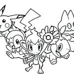 Malowanka Pokemony