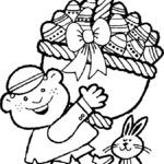 Wielkanocna kolorowanka